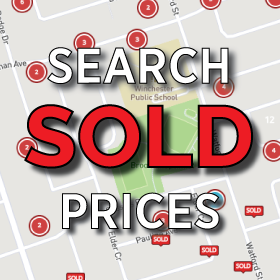 Search Durham Region sold home prices